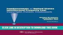 [PDF] Fundamentals of Us Intellectual Property Law. Copyright, Patent, Trademark.3rd Edition Full