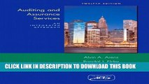 [PDF] Auditing and Assurance Services (12th Edition) Popular Colection