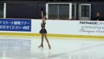 2016 ACI Senior Ladies Short Program Elizabet Tursynbaeva