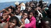 Méditerranée: des migrants morts à bord d'un canot surchargé