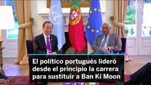 Antonio Guterres secretario  de la ONU