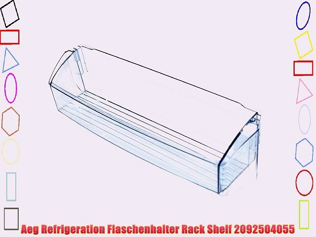 Aeg Refrigeration Flaschenhalter Rack Shelf 2092504055