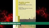 FREE PDF  Disabilità mentale e istituzioni. Riflessioni sulla presa in carico: Riflessioni sulla