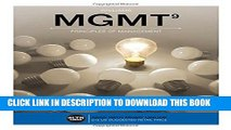 New Book MGMT  (with MGMT Online, 1 term (6 months) Printed Access Card) (New, Engaging Titles