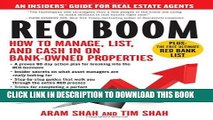 New Book REO Boom: How to Manage, List, and Cash in on Bank-Owned Properties: An Insiders  Guide