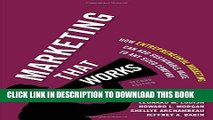New Book Marketing That Works: How Entrepreneurial Marketing Can Add Sustainable Value to Any