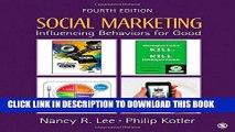 New Book Social Marketing: Influencing Behaviors for Good
