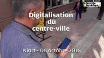 VIDEO. Niort : Digitalisation du centre ville