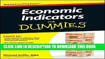 Collection Book Economic Indicators For Dummies