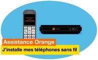 Assistance Orange - J'installe mes téléphones sans fil - Orange