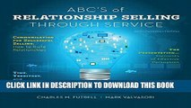 Collection Book ABCs of Relationship Selling Through Service