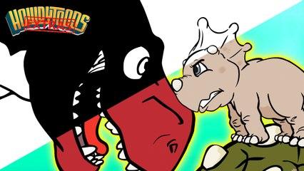 The Making of Dinosaur Battles | Dinosaur Songs for kids from Dinostory by Howdytoons