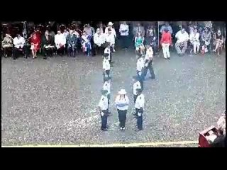 Acto  de Cremación de banderas