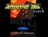 [Super Famicom] Famicom Detective Club part II ~ intro and prologue
