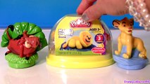 Disney Play Doh Simba The Lion King Pumbaa Make n Display Stage Dome Show Jungle Animals PlayDough
