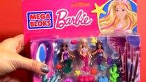 MegaBloks Barbie Mermaids Party - La Fiesta de Muñecas Sirenas - La fête des sirènes Building Blocks