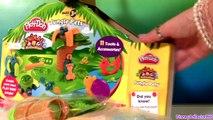 Play Doh Jungle Animals Monkey Elephant Turtle Play Dough Animales de la Selva Animaux de la Jungle