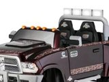 Dodge Ram 3500 Dually Longhorn Edition 12-Volt Battery-Powered Ride-On for kids