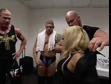 Trish Stratus & Her Team Backstage Before Her Match With Lita