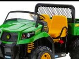 Peg Perego John Deere Gator XUV Ride-On Vehicle Toy For Children
