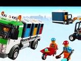LEGO City Camión de Reciclaje, Lego Camión de Basura, Lego Juguetes Para Niños