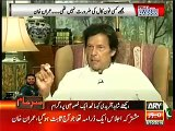 "Imran Khan replies to Najam Sethi news "" Imran Khan changed his mind to boycott joint session after phone call"""