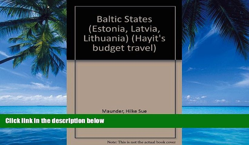 Big Deals The Baltic States: Hayit s Budget Travel : More Travel for Your Money Full Read Most | Godialy.com