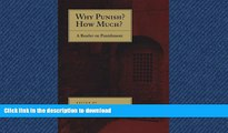 EBOOK ONLINE Why Punish? How Much?: A Reader on Punishment READ PDF BOOKS ONLINE