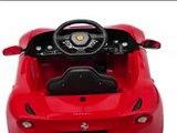 Ferrari F12 Voiture électrique 6V Jouet à Enfourcher