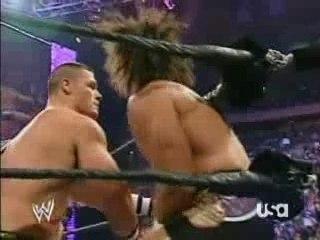 Umaga & John Cena Vs Randy Orton & Carlito