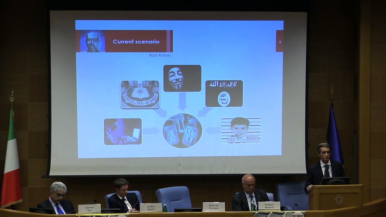 Pierluigi Paganini – Esperto di Cyber Security ed Intelligence, Security Advisor – MoVimento 5 Stelle