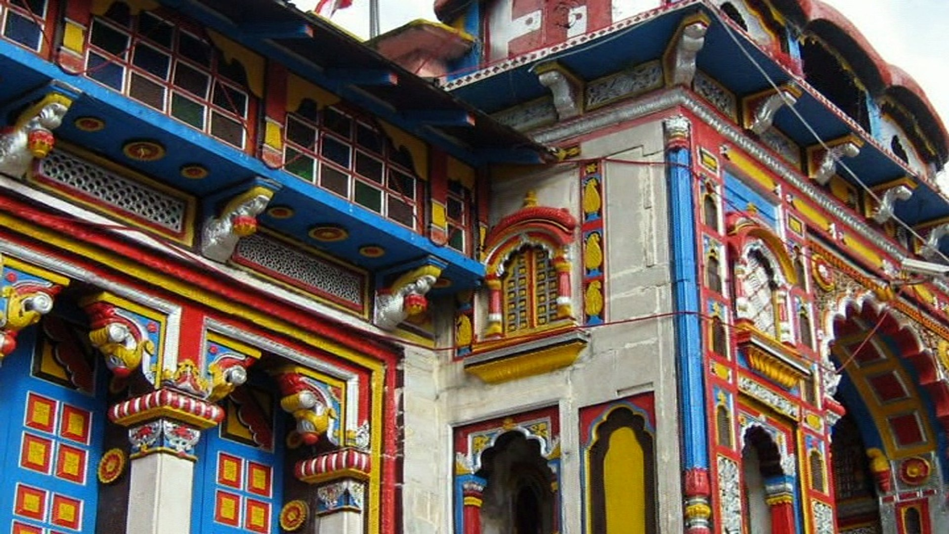 Badrinath Temple -  Uttarakhand, India.