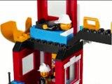 LEGO Juniors La Caserne des Pompiers, Lego Jouet Pour Enfants