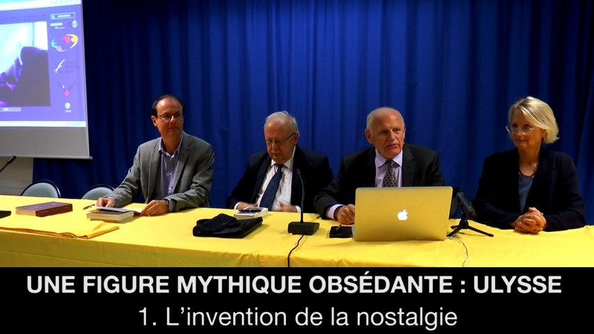 Une figure mythique obsédante : Ulysse – 1. L'invention de la nostalgie, Jean-Louis POIRIER