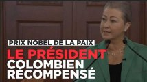 Le prix Nobel de la paix 2016 récompense le président colombien Juan Manuel Santos