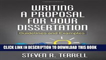 [PDF] Writing a Proposal for Your Dissertation: Guidelines and Examples Full Online