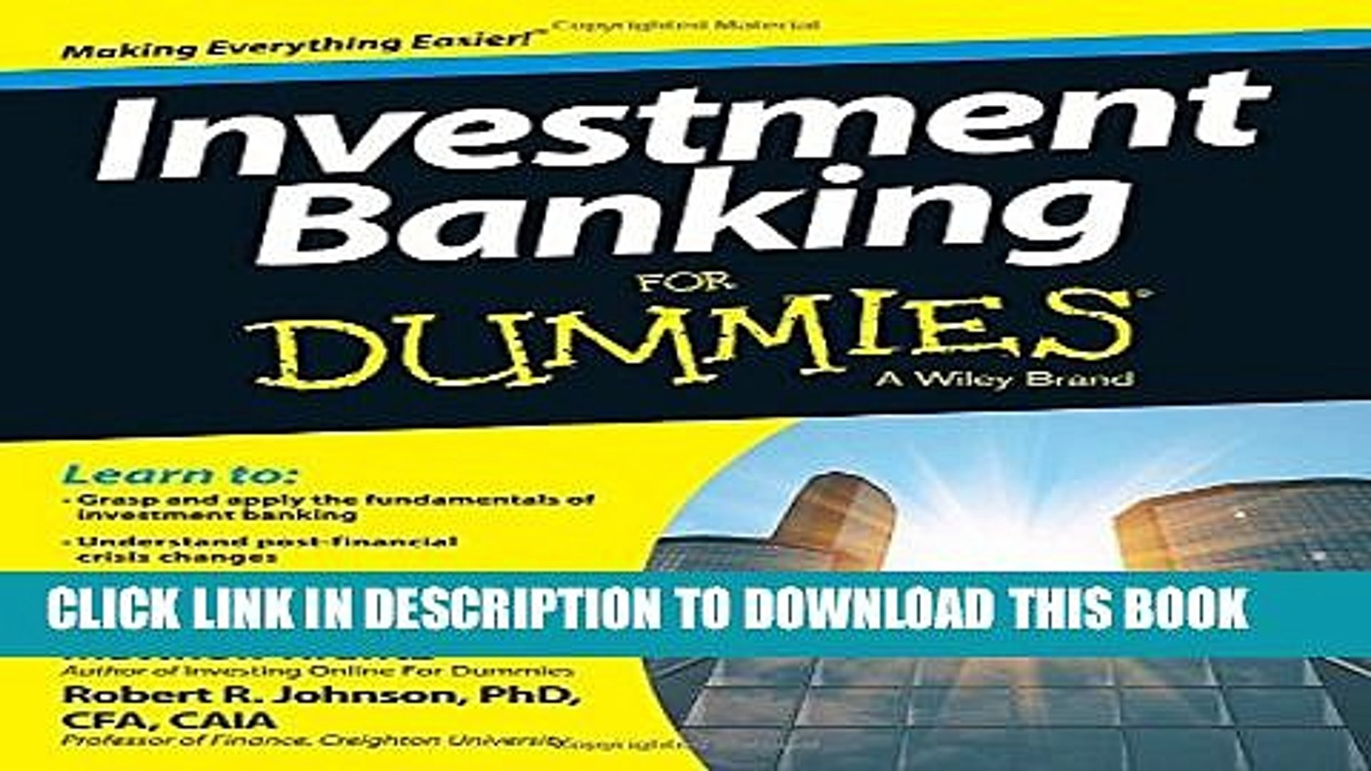 [PDF] Investment Banking For Dummies Popular Online