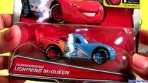 Transforming Lightning McQueen Disney Pixar Cars 2 NEW Mattel Diecasts Otto Bonn & Rip Clutchgoneski