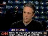 Part 3 : Jon Stewart @ Larry King (2006-02-27)