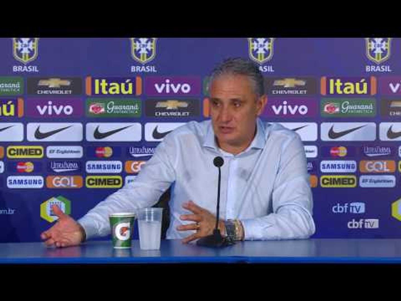 Seleção Brasileira: Coletiva Tite - 06/10/2016