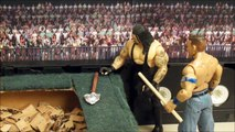 Undertaker vs. John Cena - BURIED ALIVE Match: Royal Rumble 2016