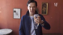 Benedict Cumberbatch réalise un tour de passe-passe avec une bouteille d'eau