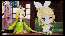 [鏡音リン] Project Diva X:  Checking out Rin's Figurine