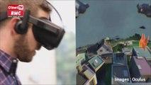 Oculus a présenté son futur casque de réalité virtuelle DQJMM (1/3)