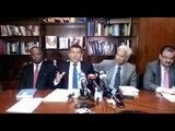 Conferencia, abogados de Ricardo Martinelli