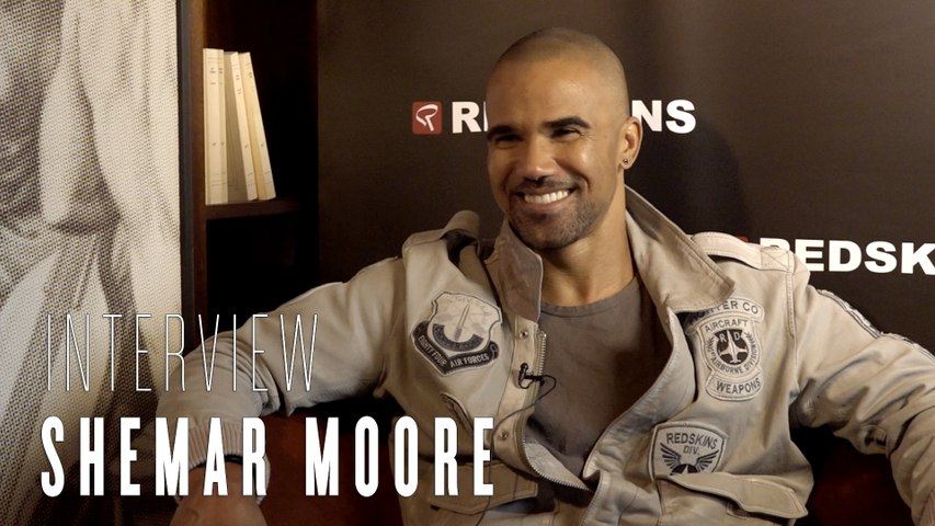 L'interview beau gosse : Shemar Moore égérie Redskins