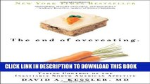 New Book The End of Overeating: Taking Control of the Insatiable North American Appetite