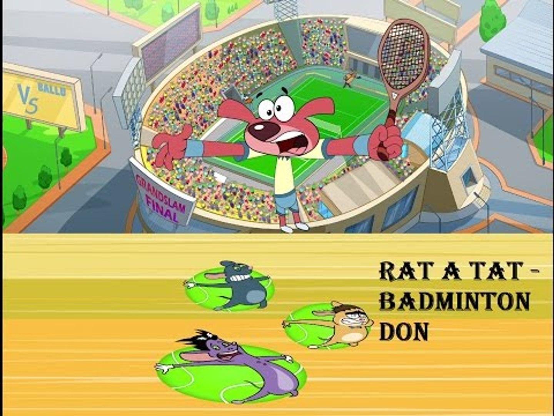 Rat-A-Tat | 'TENNIS MATCH DON' | Chotoonz | Kids Funny Cartoon Videos
