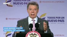 Colombia's president wins Nobel Peace Prize