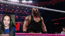 WWE Raw 10/3/16 Braun vs Local Talent